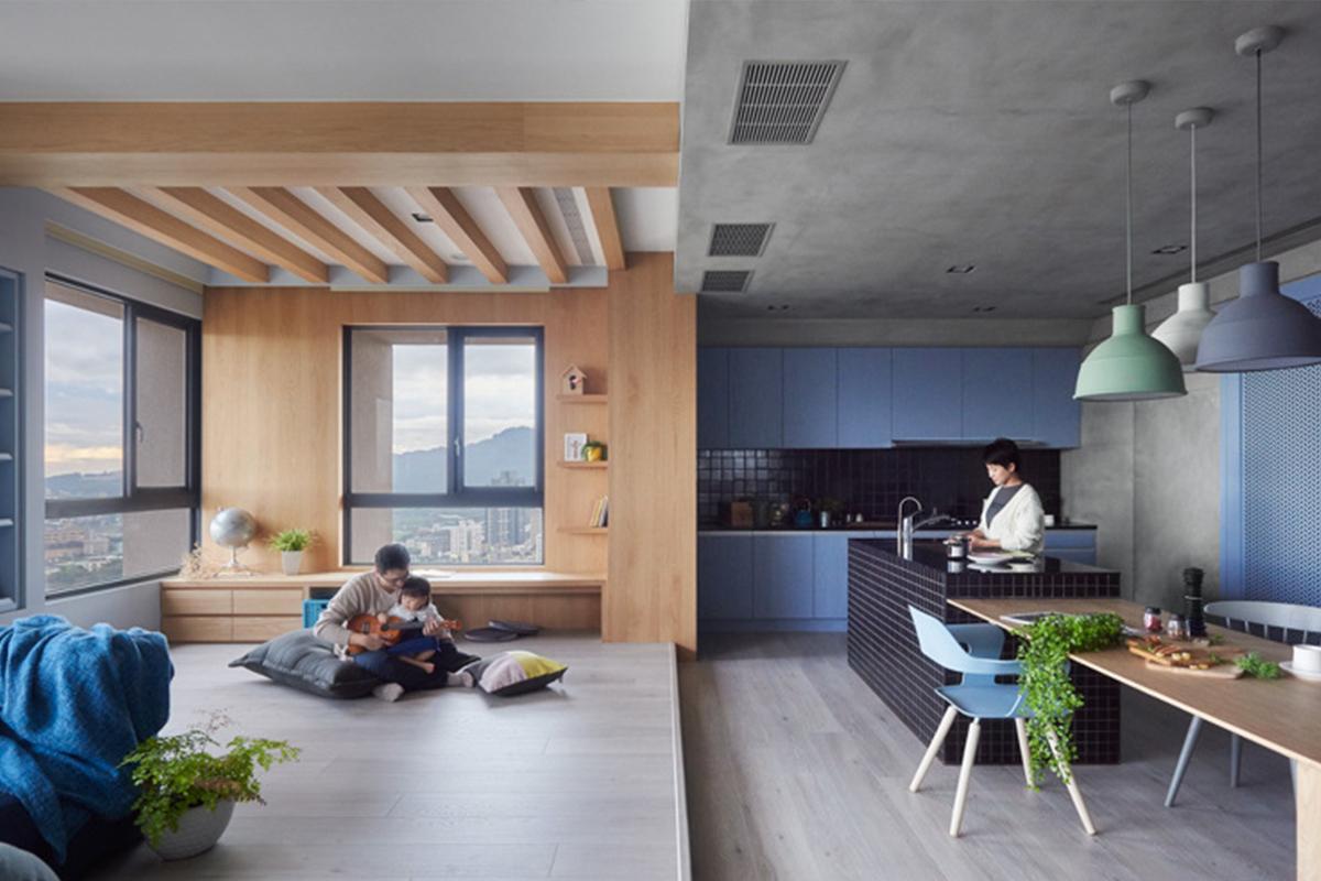 Soffitto Travi A Vista Bianco le travi in legno, case moderne dal sapore rustico